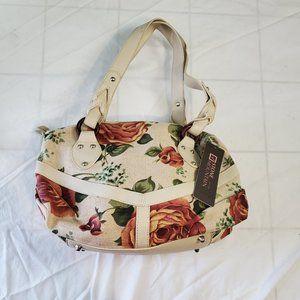 Stone Mountain Floral Canvas Handbag
